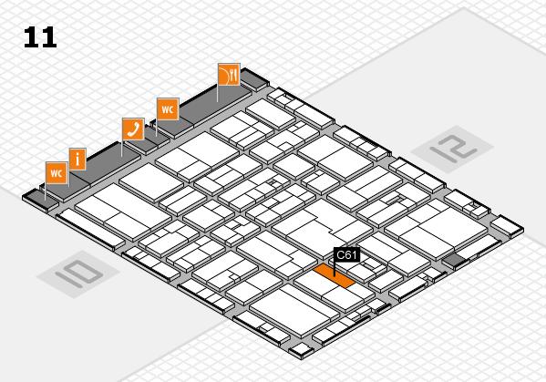 drupa 2016 hall map (Hall 11): stand C61