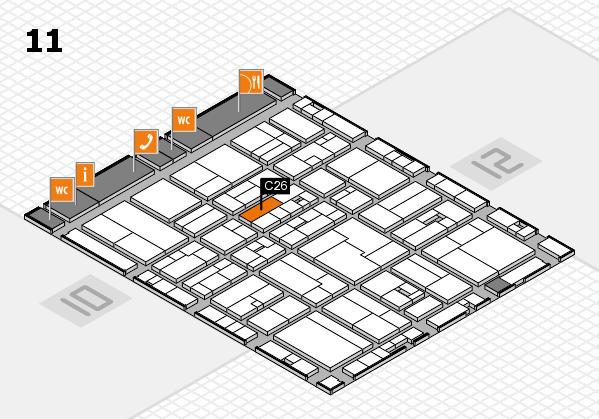 drupa 2016 hall map (Hall 11): stand C26
