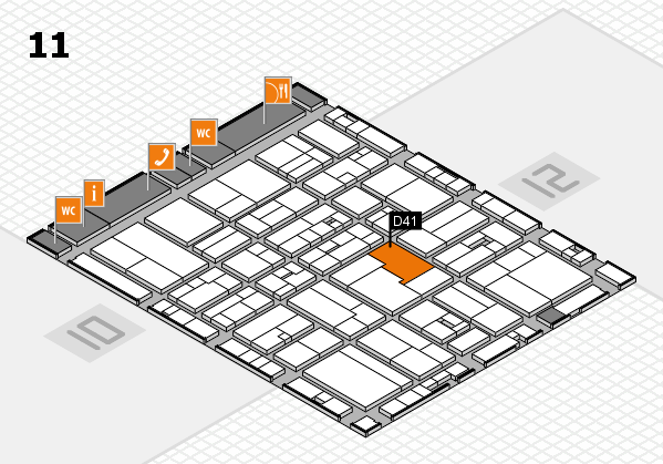 drupa 2016 Hallenplan (Halle 11): Stand D41