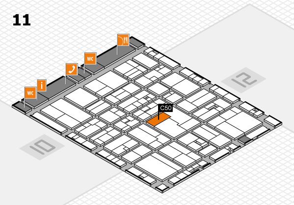 drupa 2016 Hallenplan (Halle 11): Stand C50