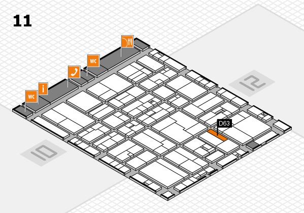 drupa 2016 hall map (Hall 11): stand D63