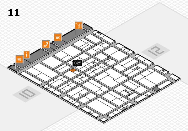 drupa 2016 Hallenplan (Halle 11): Stand C25