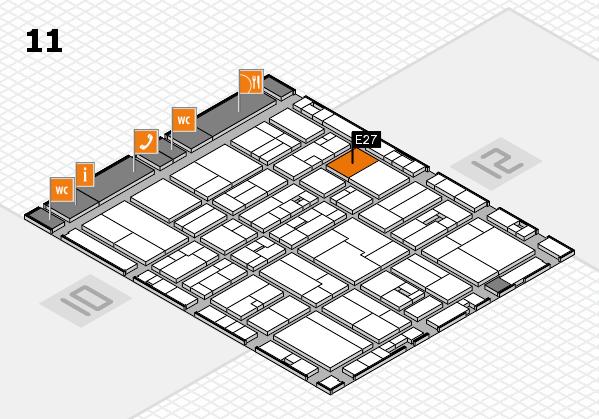 drupa 2016 Hallenplan (Halle 11): Stand E27
