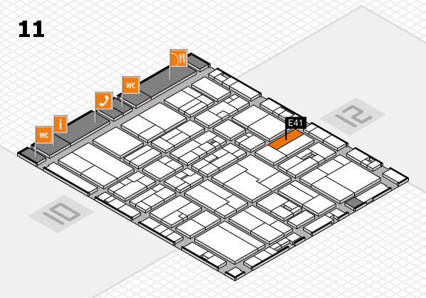 drupa 2016 Hallenplan (Halle 11): Stand E41