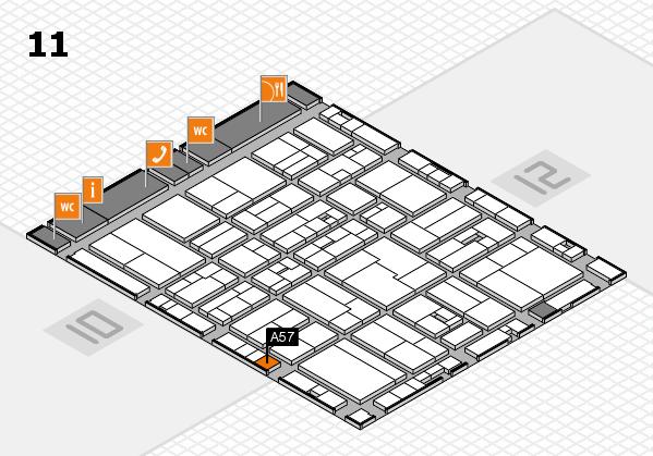 drupa 2016 hall map (Hall 11): stand A57