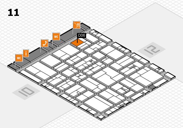 drupa 2016 hall map (Hall 11): stand D06