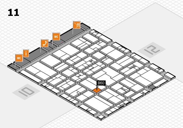 drupa 2016 Hallenplan (Halle 11): Stand B60
