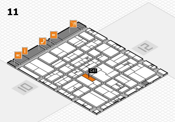 drupa 2016 Hallenplan (Halle 11): Stand C41