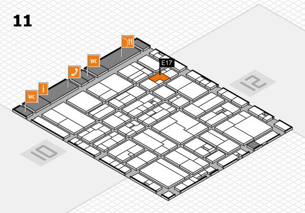 drupa 2016 hall map (Hall 11): stand E17
