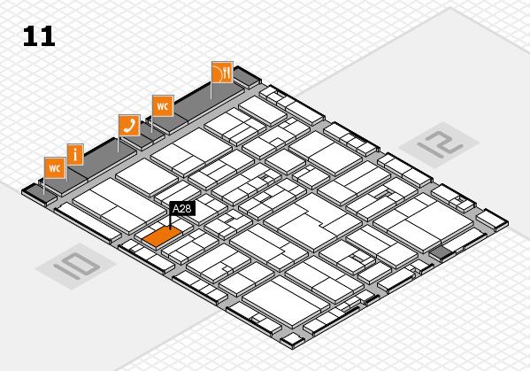 drupa 2016 hall map (Hall 11): stand A28