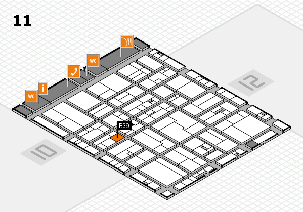 drupa 2016 Hallenplan (Halle 11): Stand B39