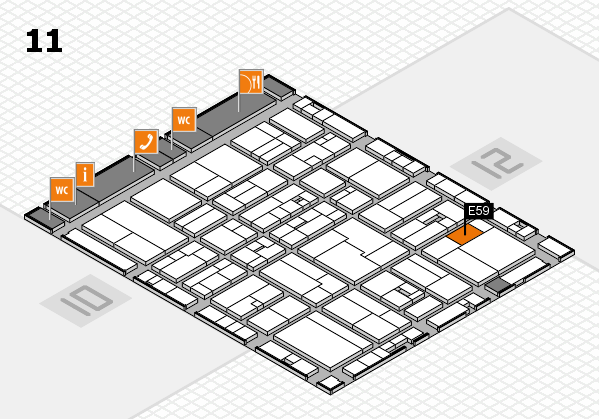 drupa 2016 hall map (Hall 11): stand E59