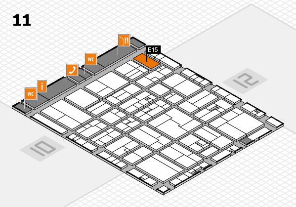 drupa 2016 hall map (Hall 11): stand E15