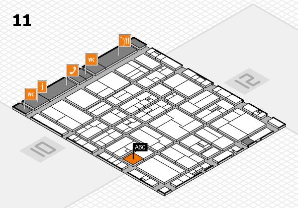drupa 2016 Hallenplan (Halle 11): Stand A60