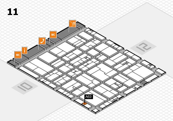 drupa 2016 Hallenplan (Halle 11): Stand A63