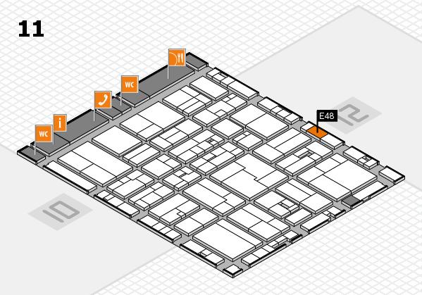 drupa 2016 Hallenplan (Halle 11): Stand E48