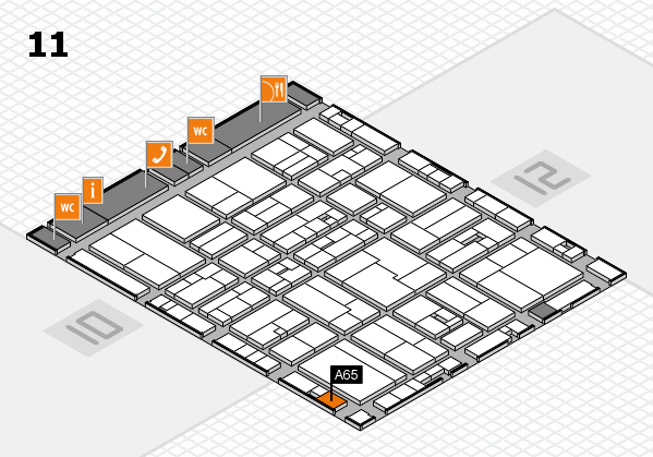drupa 2016 hall map (Hall 11): stand A65