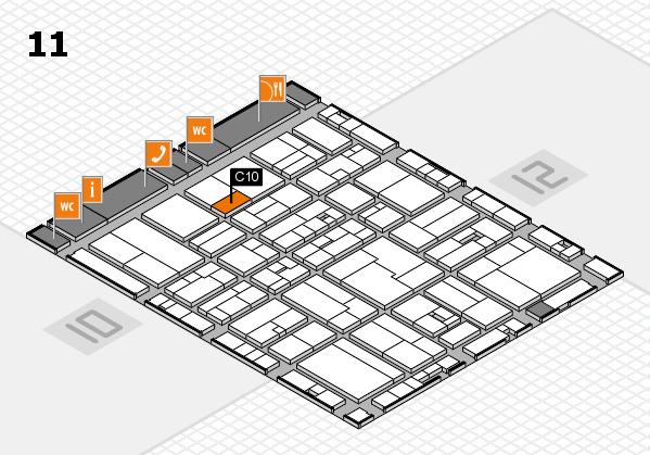 drupa 2016 Hallenplan (Halle 11): Stand C10