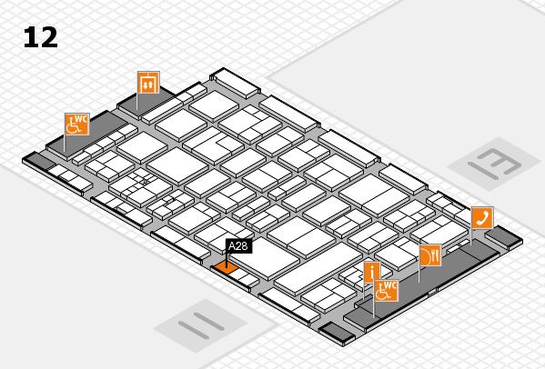 drupa 2016 hall map (Hall 12): stand A28