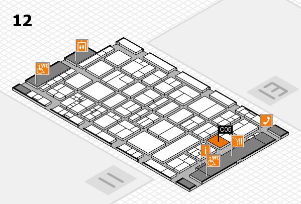 drupa 2016 hall map (Hall 12): stand C05