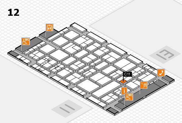 drupa 2016 hall map (Hall 12): stand C11