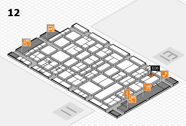 drupa 2016 Hallenplan (Halle 12): Stand E06