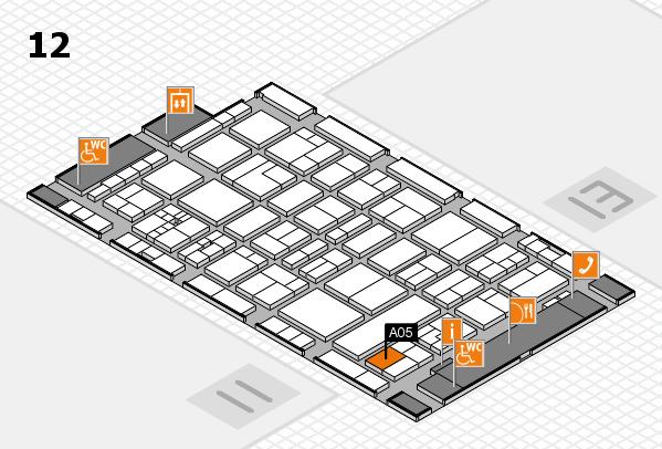 drupa 2016 Hallenplan (Halle 12): Stand A05