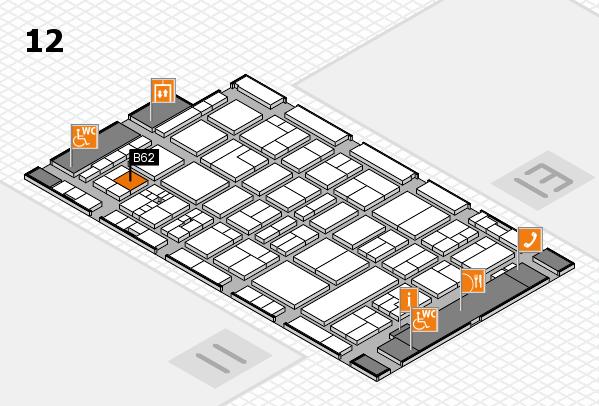 drupa 2016 hall map (Hall 12): stand B62