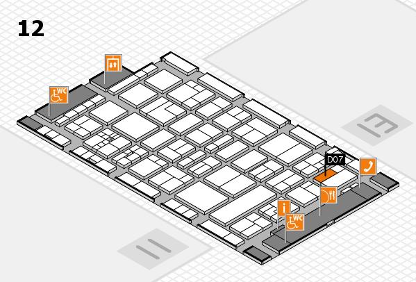 drupa 2016 hall map (Hall 12): stand D07