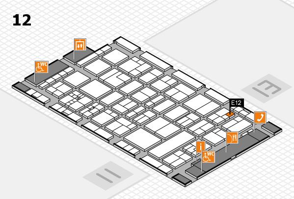 drupa 2016 Hallenplan (Halle 12): Stand E12