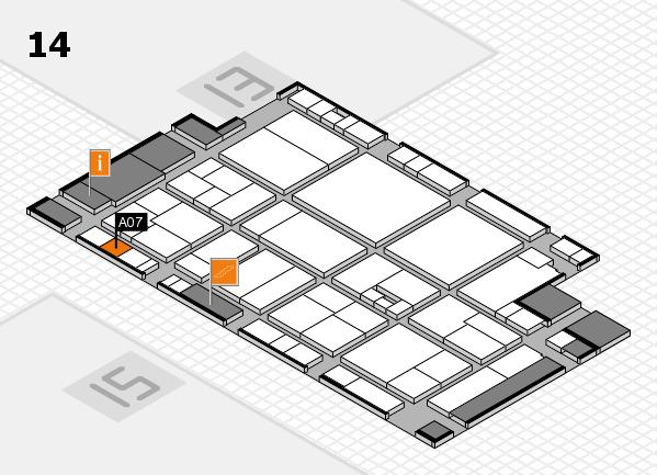 drupa 2016 Hallenplan (Halle 14): Stand A07