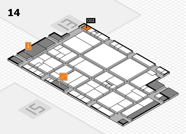 drupa 2016 hall map (Hall 14): stand D02