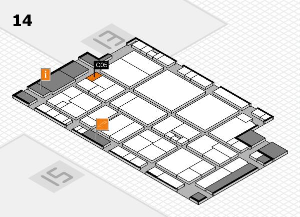 drupa 2016 Hallenplan (Halle 14): Stand C05