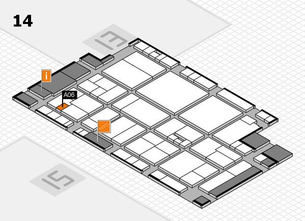 drupa 2016 Hallenplan (Halle 14): Stand A06