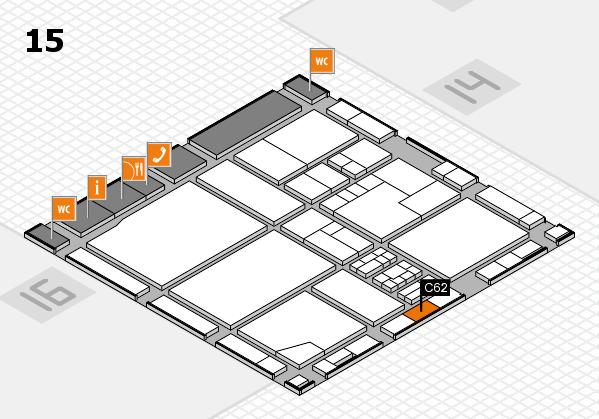 drupa 2016 hall map (Hall 15): stand C62