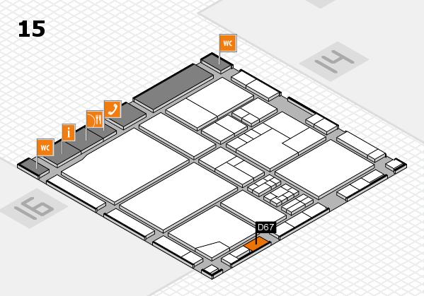 drupa 2016 hall map (Hall 15): stand D67