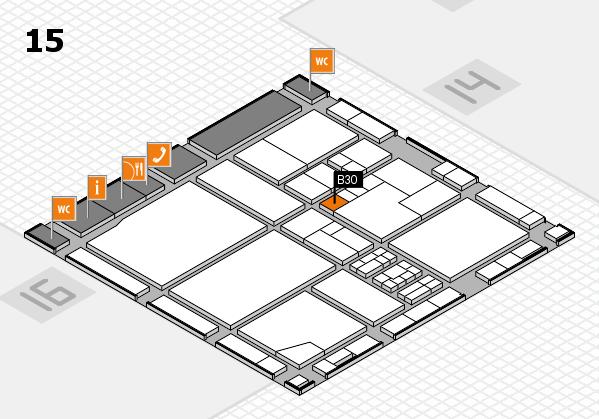 drupa 2016 Hallenplan (Halle 15): Stand B30