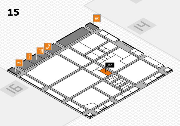 drupa 2016 hall map (Hall 15): stand B41