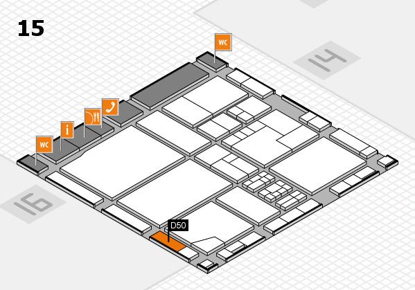 drupa 2016 Hallenplan (Halle 15): Stand D50