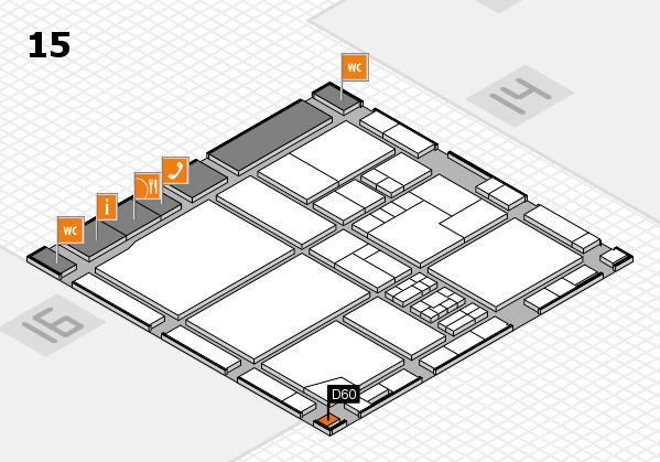 drupa 2016 Hallenplan (Halle 15): Stand D60