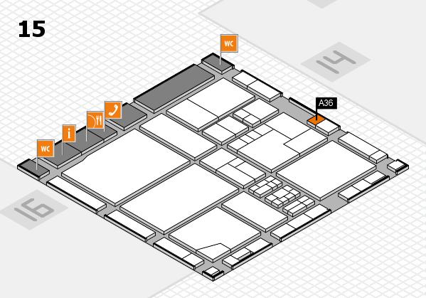 drupa 2016 Hallenplan (Halle 15): Stand A36