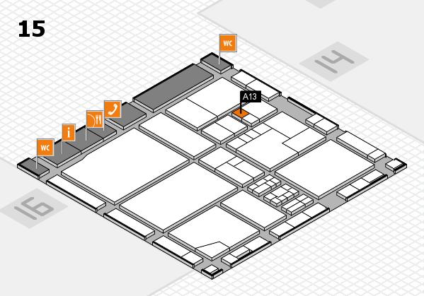 drupa 2016 hall map (Hall 15): stand A13