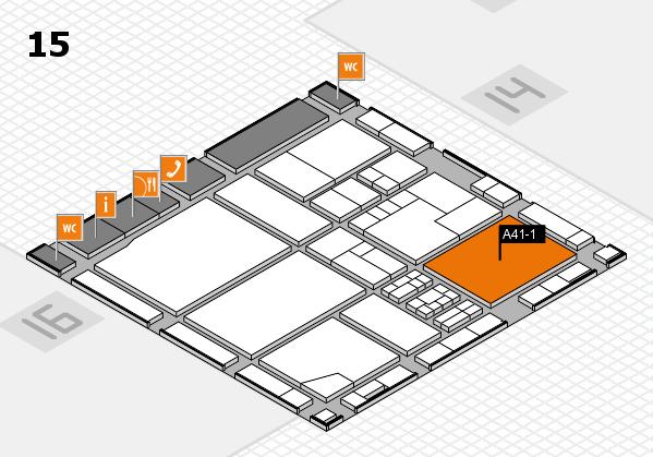 drupa 2016 Hallenplan (Halle 15): Stand A41-1