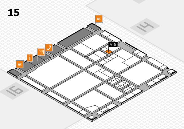 drupa 2016 hall map (Hall 15): stand A15