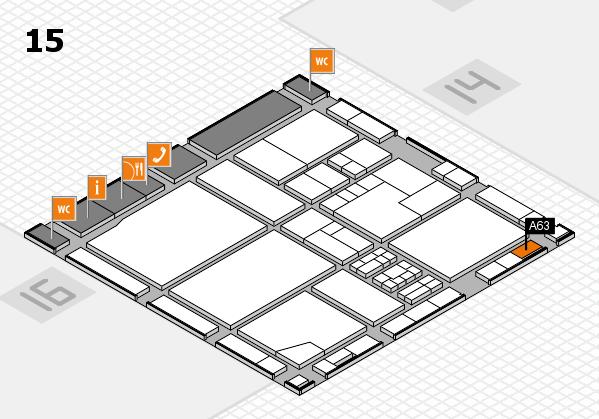 drupa 2016 Hallenplan (Halle 15): Stand A63
