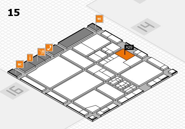 drupa 2016 Hallenplan (Halle 15): Stand A29