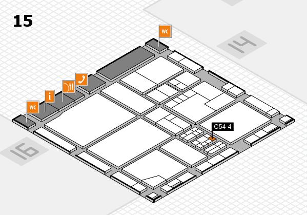drupa 2016 Hallenplan (Halle 15): Stand C54-4