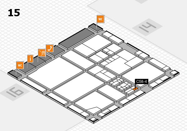drupa 2016 Hallenplan (Halle 15): Stand C58-4