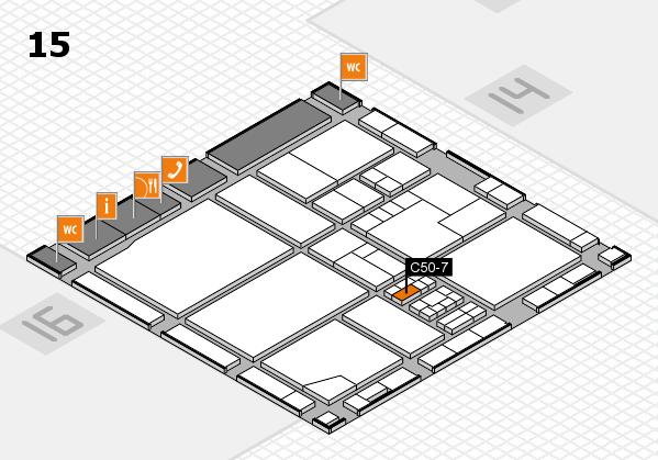 drupa 2016 Hallenplan (Halle 15): Stand C50-7