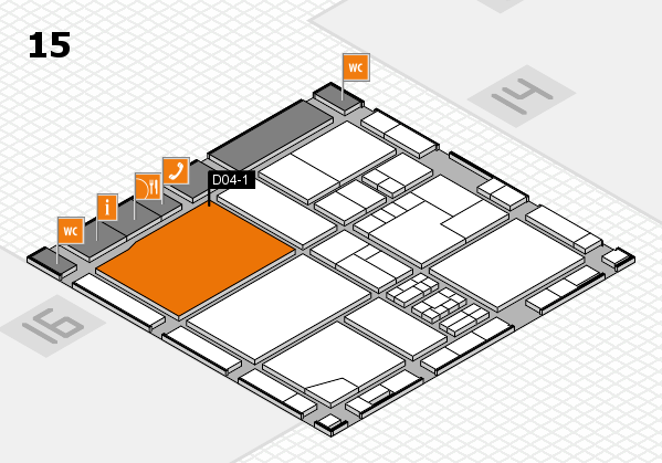 drupa 2016 hall map (Hall 15): stand D04-1